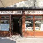 The delightful 'Schmalznudel - Cafe Frischhut' Munich (19/May/17).