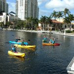 Kayak Rentals along the New River in Fort Lauderdale