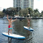 Paddleboards for rent along the Riverwalk!