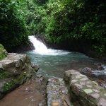 Waterfall swimming hole!