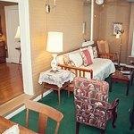 The Enclosed Porch attached to The Shenandoah Suite