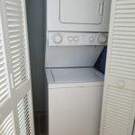 Washer / Dryer in Bathroom