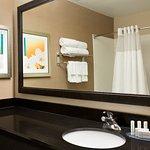 Guest Bathroom at our Mesquite Fairfield Inn & Suites