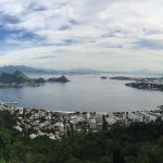Niterói paraglider port with an awesome view back at Rio,