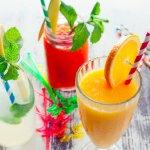 Limonadas, aguas y jugos