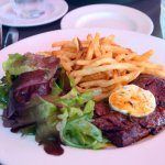 Steak & Fries plate