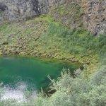 Bluish Green Lake