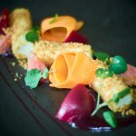 Marinated Beetroot, Tunworth Soft Cheese