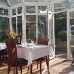 Conservatory for breakfast