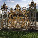 Magnificent gilded gates