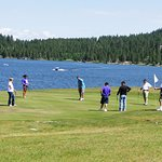 Golf on Lake Cascade just makes your whole spirit relax.  Affordable and close.