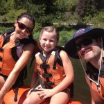 Whitewater Rafting is for the entire family.  They offer Family friendly or Wild rides.