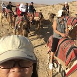 Moti gave us a bonus camel ride at the Negev Desert!