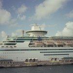 Carnival cruise ship in port