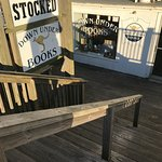 Bookstore on the boardwalk