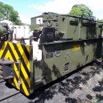 Ex-RAF Battery Loco for underground weapons stores.