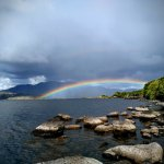 Lough Currane rainbow - taken by Constance Dehourcau May 2017, Waterville Co Kerry