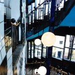 Museum Hundertwasser - stair well