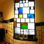 Museum Hundertwasser - men's room window