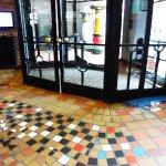 Museum Hundertwasser - entrance and floor tile