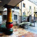 Museum Hundertwasser - Courtyard pillar