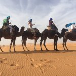 We did a classic 4 days Marrakech to Fez tour. The company is reliable.