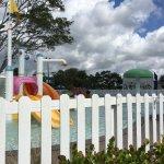 Pool, beach, Slice Bar, kiddie pool & schedule, breakfast and then our room