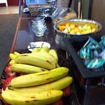 Fruit Station in dining area