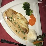 The parrot fish entree