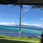 The view from our lanai. Beautiful!