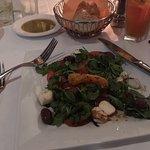 Loved their version of caprese salad!