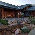 Entrance, Trading post, wildlife museum, registration & restaurant