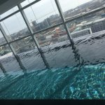 Infinity pool on the top floor - another pool on another floor too