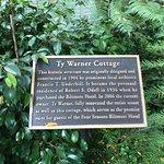Ty Warner Cottage sign