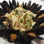 Fresh Mussel / home made fettuccine