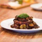 Entree amazingness - our Porchetta