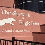 Skywalk entrance