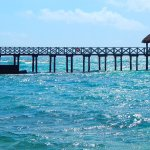 Lovely view of pier