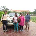 My family along with Guide Mr.Em Un and Driver Mr.Alex
