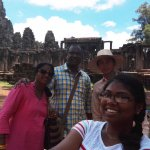With our guide Mr.Em Un
