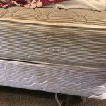 Stained bed and mattress, charged for EVERYTHING! Terrible customer service, no eye contact, and
