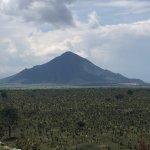 Vista de volcán