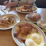 Breakfast combo at IHOP Newport