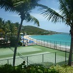 Tennis Court and Morning Star Beach