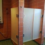 Shared showering room