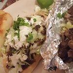 tamale, Huarache and taco