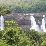 full view of water falls