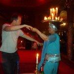 Chandelier dancer