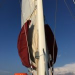 Sail before it goes up on return journey.