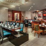 Chopstix cool and tranquil interiors provide a perfect setting for an Oriental meal.